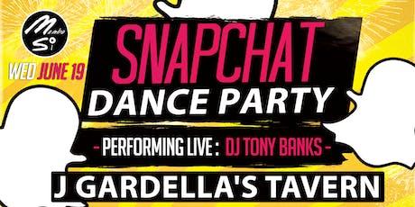 Snapchat Dance Party Ft. DJ Tony Banks tickets
