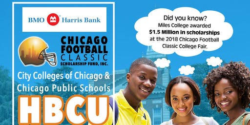 CFC 2019 HBCU COLLEGE FAIR - HIGH SCHOOL & COLLEGE STUDENT REGISTRATION