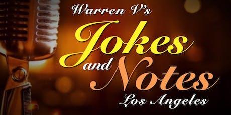 Warren V's Jokes & Notes LA (Comedy/Karaoke Night)  tickets