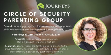 Circle of Security - Parenting Group tickets