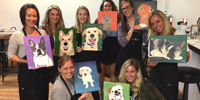 """Paint Your Pet"" Painting & Vino Art Class"