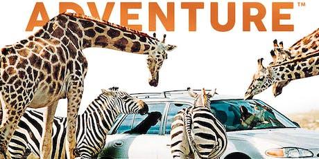 2019-6-29 遐迩闻名的非洲狮子野生动物园 + 踏青特色美地:吊桥水坝贝尔方丹自然保护区 tickets