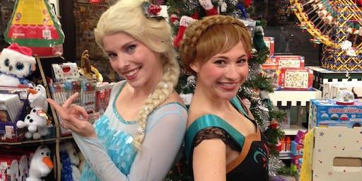 Frozen returns Elsa & Anna Live