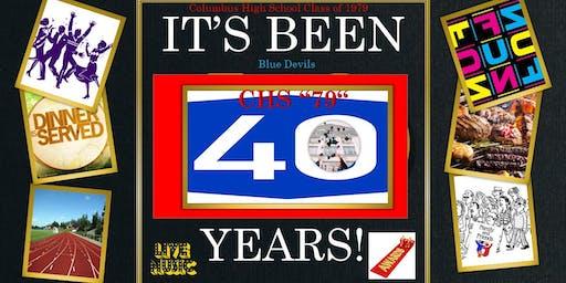 CHS - 40 Years of Memories - Alumni Memorabilia Book (1979-2019)