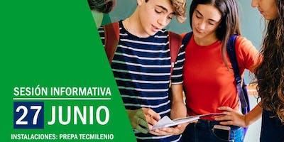 ´Última Sesión Informativa Preparatoria Tecmilenio
