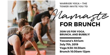 Namaste for Brunch tickets