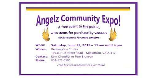 Angelz Community Expo  (Free entry to the Public)