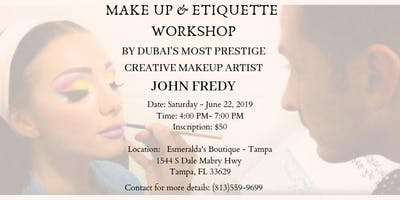The Summer Makeup Workshop by John Fredy