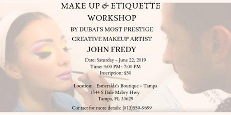 The Summer Makeup Workshop by John Fredy tickets