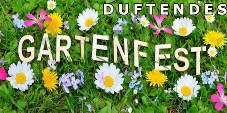 Duftendes Gartenfest  am 11.08.2019 tickets