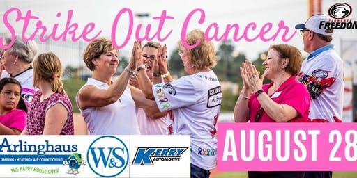 Striking Out Cancer Game @ Florence Freedom