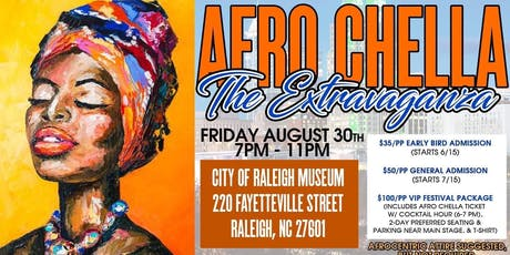 AfroChella by African American Cultural Festival of Raleigh and Wake County tickets