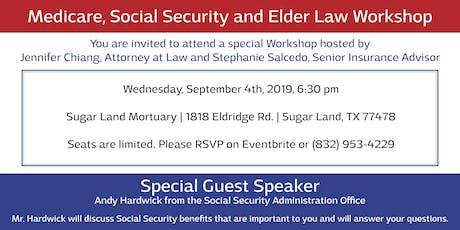 Elder Law, Social Security and Medicare Workshop tickets