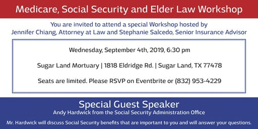 Elder Law, Social Security and Medicare Workshop