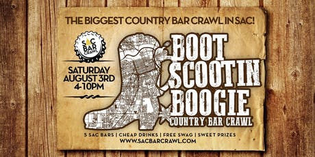 Boot Scootin Boogie Pub Crawl tickets