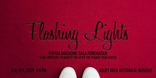 Flashing Lights : Coffea Magazine Gala Fundraiser