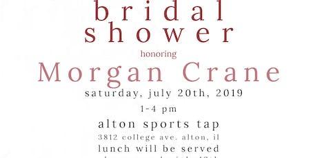 Morgan's Bridal Shower tickets