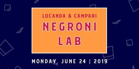 Negroni Lab 2019 tickets