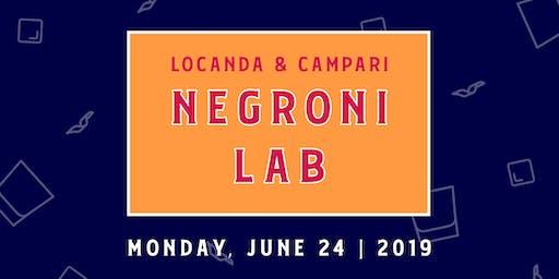 Negroni Lab 2019
