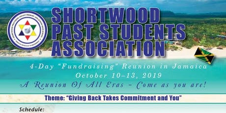 """Shortwood Past Students 4-Day """"Fundraising"""" Reunion - Kingston, Jamaica tickets"""