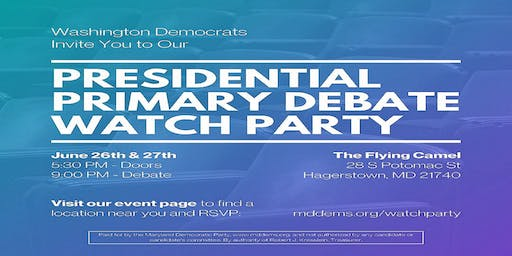 Watch Party - 2020 Democratic Presidential Debate