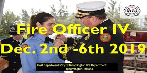Fire Officer IV Class