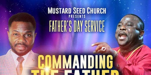 Blessing Fathers Day Celebration
