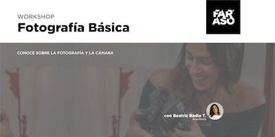 Workshop Fotografía Básica con Beatriz Thomen