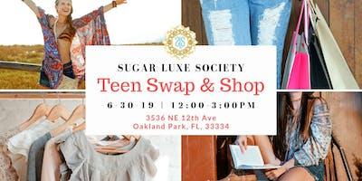 Teen Swap & Shop Event Series
