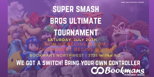 Super Smash Bros. Saturdays Ultimate Tournament