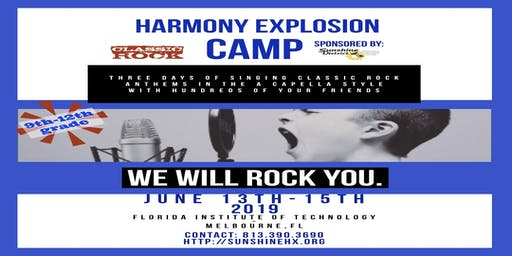 2019 Sunshine District Harmony Explosion Spectacular Show Tickets at the Door