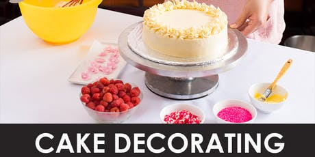 Cake Decorating Class - $125 Per Person -  Sat, 8/24/19 at 1pm-BASIC tickets