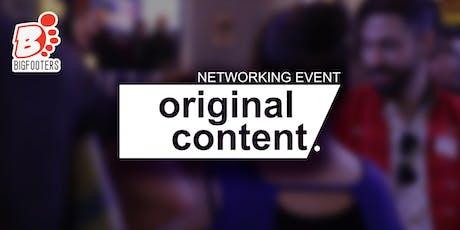 Original Content Networking Event tickets