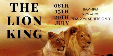 Kids & Adult Art Workshop/The Lion King: Presented by Cora Colors tickets