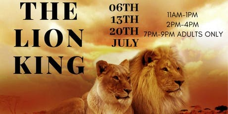 Kids & Adult Art Workshop |The Lion King: Presented by Cora Colors tickets