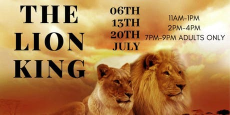 Adult ONLY  Art Workshop  The Lion King: Presented by Cora Colors   tickets
