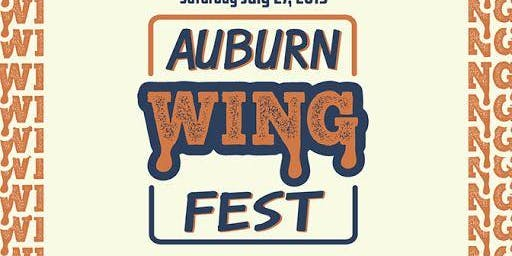 Auburn WING Fest 2019 - Saturday, July 27th