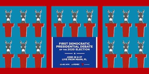 Democratic Presidential Debate Watching Party