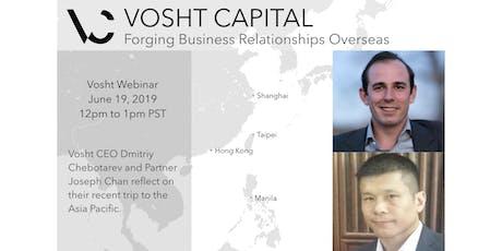 Vosht Capital Investment Webinar tickets