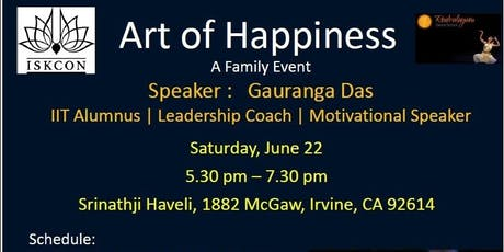Art Of Happiness tickets