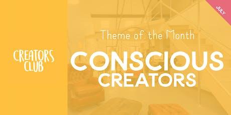 Creators Club London | Conscious Creators tickets