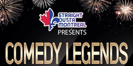 Stand Up Comedy ( Comedy Legends ) Montreal Comedy tickets