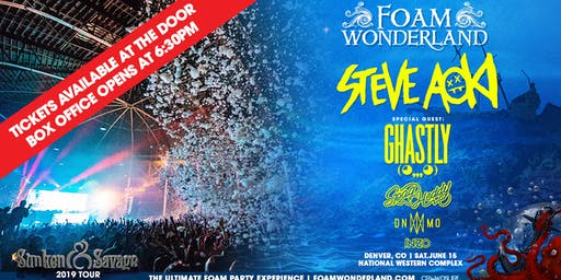 Foam Wonderland - Denver, CO 2019 - Sunken & Savage Tour