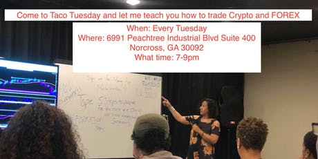 Come learn how to trade Forex and Crypto Currency tickets