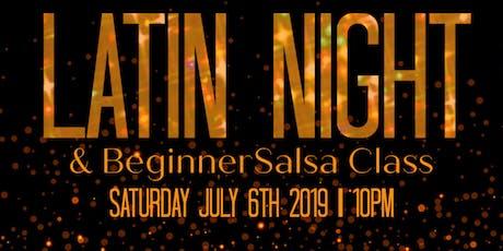 Latin Night at DiVino tickets