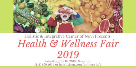 Health & Wellness Fair tickets