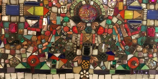 Magical Mixed Media Mosaic Workshop with Beverley Hunter