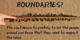 Boundaries: Moving with Awareness
