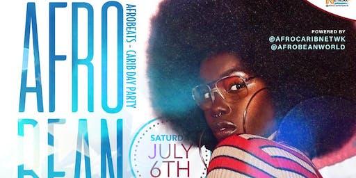 AfroBean | Afrobeats - Carib Day Party | FREE W/ RSVP