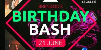 Brendon's Birthday Bash